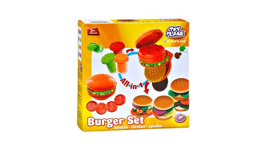 Mueller Toy Place Burger Set kneten formen spielen