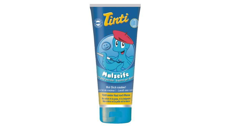 Tinti Malseife 3er Pack in Rot Blau und Gruen