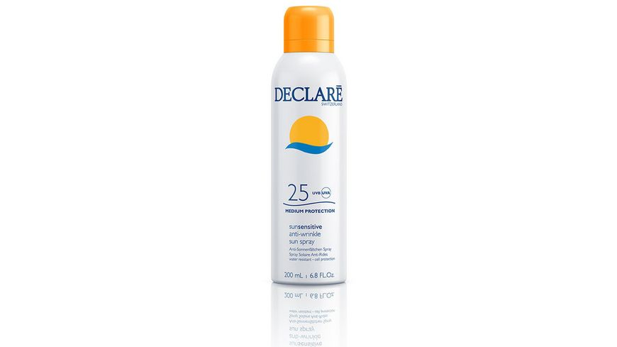 DECLARE SUN SENSITIVE Anti Wrinkle Sun Spray LSF 25