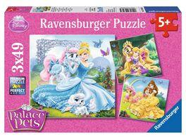 Ravensburger Puzzle Palace Pets 3 x 49 Teile