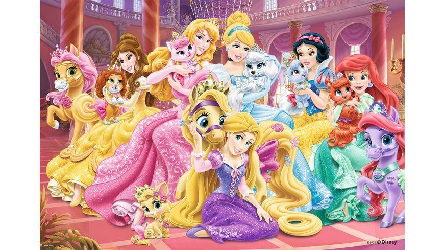 Ravensburger Puzzle Beste Freunde der Prinzessinnen 2 x 24 Teile