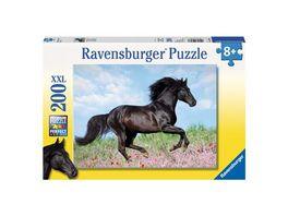 Ravensburger Puzzle Schwarzer Hengst 200 XXL Teile