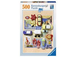 Ravensburger Puzzle Sommer in Italien 500 Teile