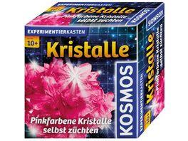 KOSMOS Experimentierkaesten Mitbringkristalle Pink