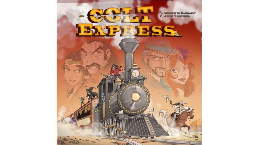 Ludonaute - Colt Express - Spiel des Jahres 2015