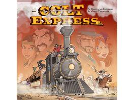 Ludonaute Colt Express Spiel des Jahres 2015