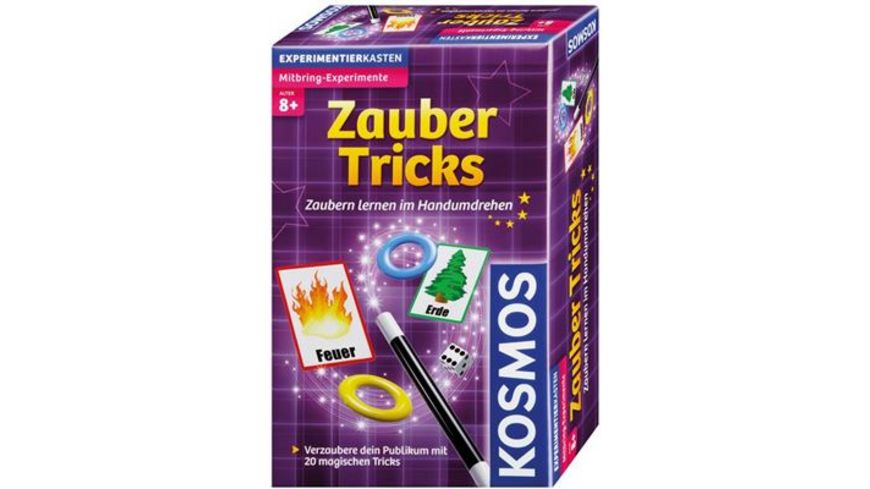KOSMOS Mitbringexperimente Zauber Tricks