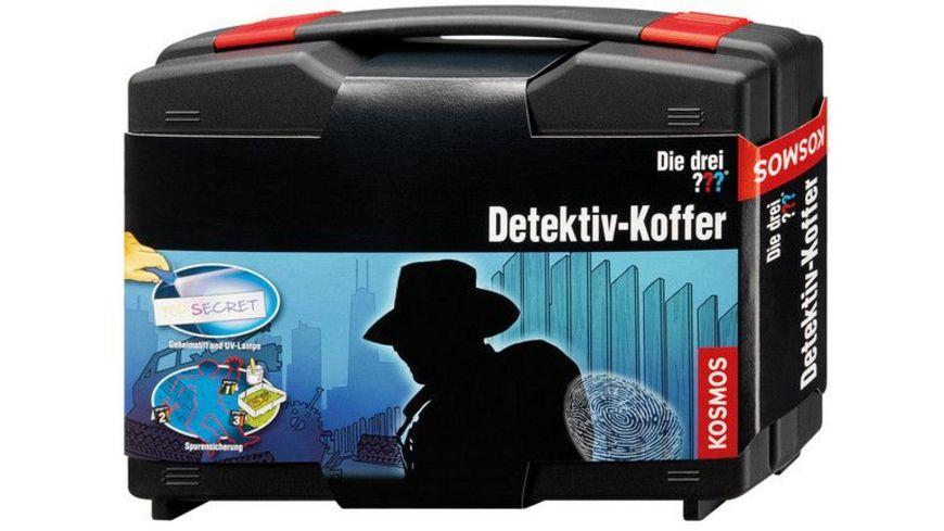 KOSMOS Die drei Der Detektiv Koffer