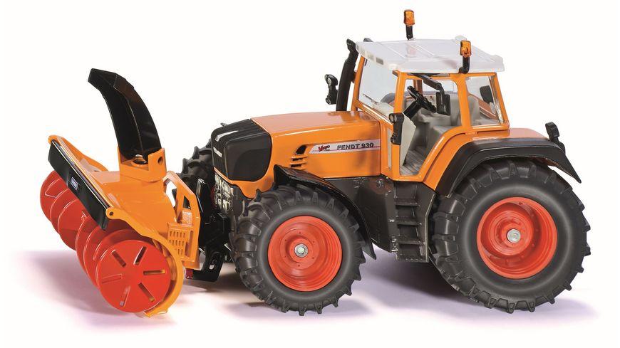 SIKU 3660 Farmer Traktor mit Schneefraese