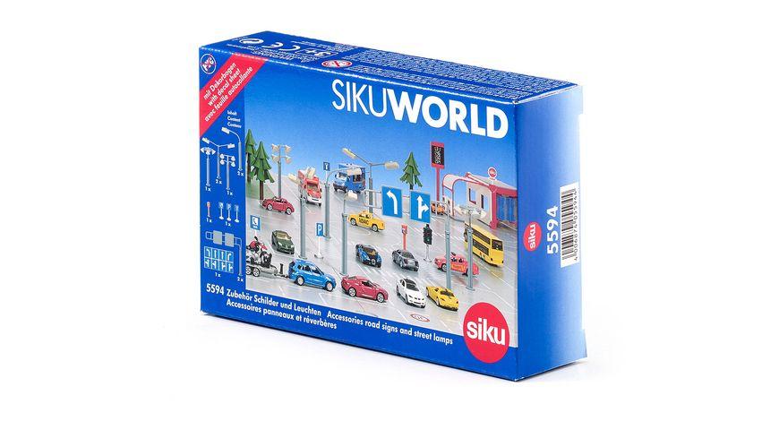 SIKU 5594 World Zubehoer Schilder und Leuchten