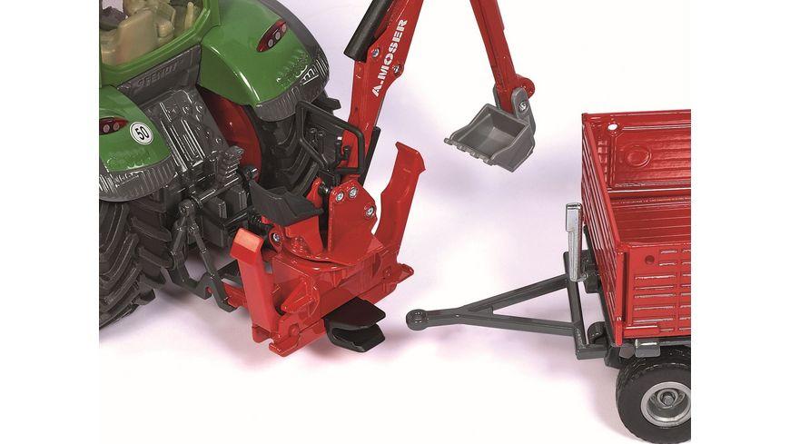 SIKU 2066 Farmer Moser Heckbagger fuer Traktoren