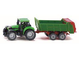 SIKU 1673 Super Traktor mit Universalstreuer