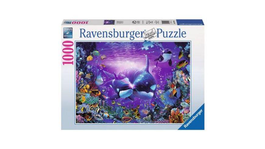 Ravensburger Puzzle Unterwasserromantik 1000 Teile