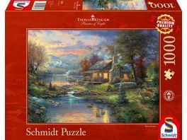 Schmidt Spiele Erwachsenenpuzzle Im Naturparadies 1000 Teile