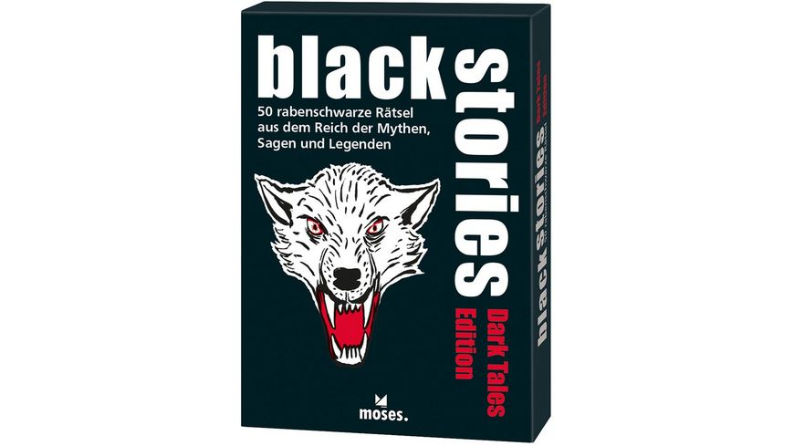 moses black stories Dark Tales Edition