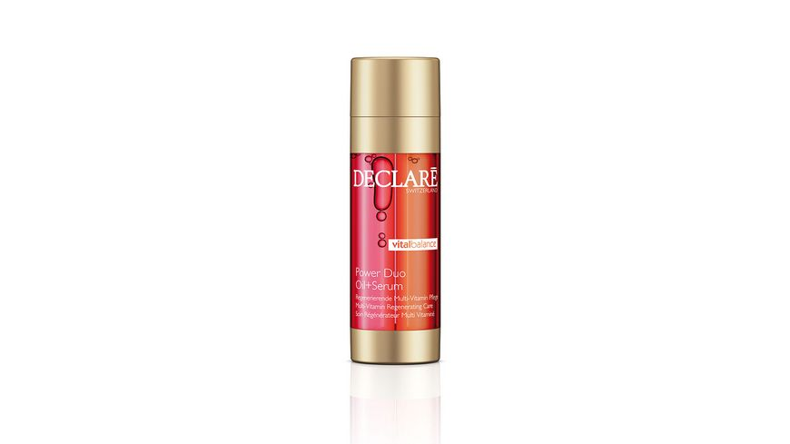 DECLARE VITAL BALANCE Power Duo Oil Serum