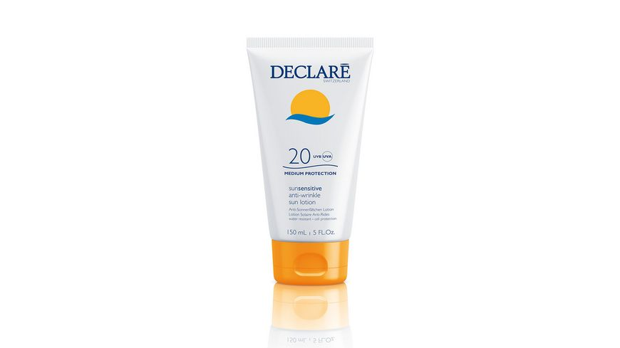 DECLARE SUN SENSITIVE Anti Wrinkle Sun Lotion LSF 20