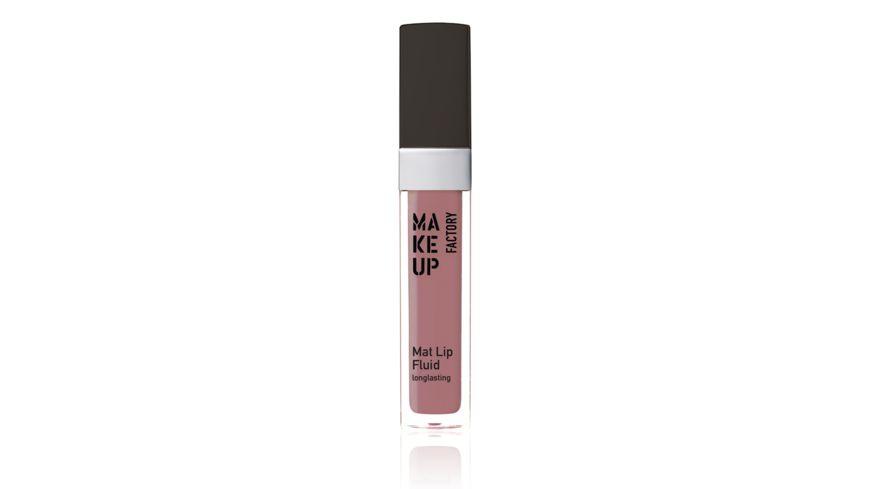 MAKE UP FACTORY Mat Lip Fluid Long lasting