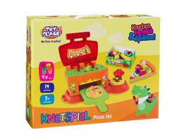 Mueller Toy Place Pizza Set kneten formen spielen