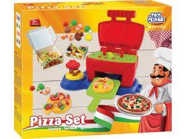 Mueller Toy Place Pizza Set kneten formen spielen