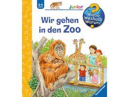 Buch Ravensburger Buch Wieso Weshalb Warum Wir gehen in den Zoo