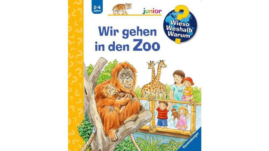 Ravensburger Buch Wieso Weshalb Warum Junior Wir gehen in den Zoo Band 30