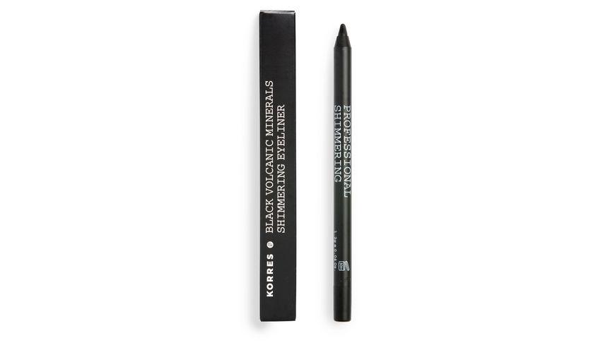 KORRES Black Volcanic Minerals Shimmering Eyeliner