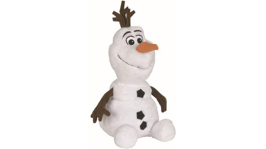 Simba Frozen Die Eiskoenigin Olaf sitzend 25cm