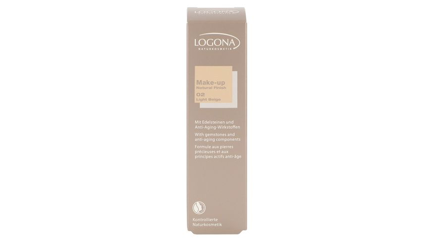 LOGONA Make up Natural Finish