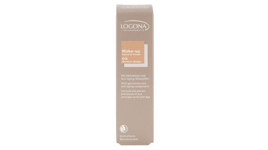 LOGONA Make up Natural Finish