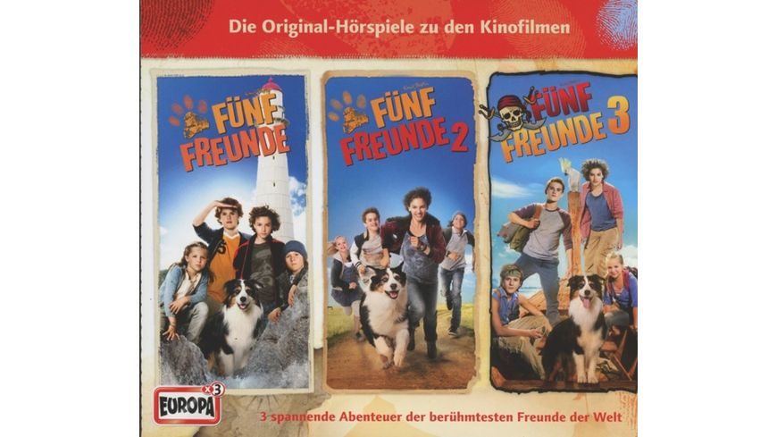 Fuenf Freunde Filmhoerspiele 1 3