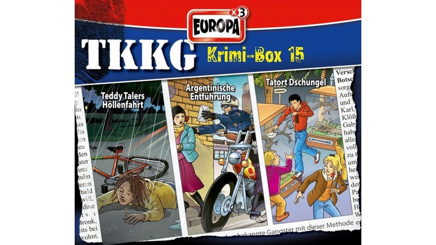 TKKG Krimi Box 15