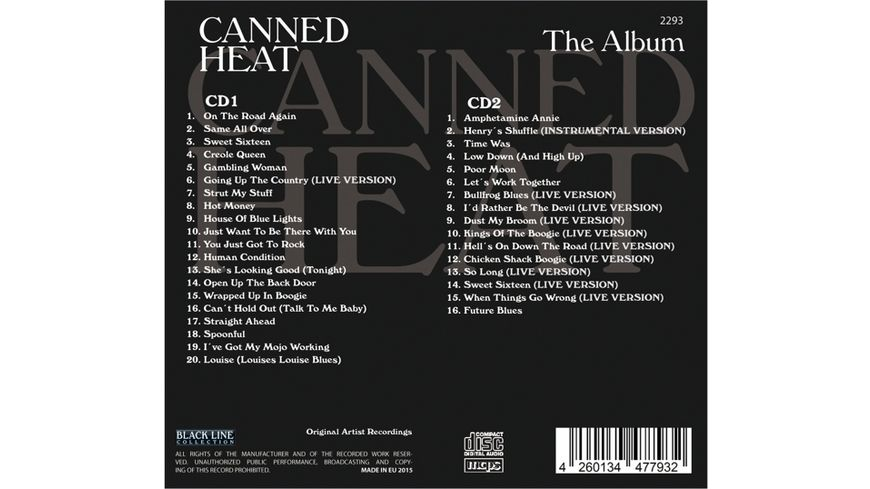 Canned Heat The Album