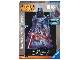 Ravensburger Puzzle Star Wars Darth Vader 1000 Teile