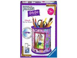 Ravensburger Puzzle 3D Puzzles Girly Girl Edition Utensilo Pferde 54 Teile