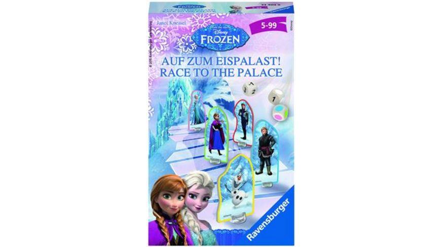 Ravensburger Spiel Mitbringspiel Disney Frozen Auf zum Eispalast