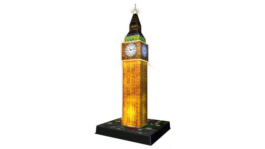 Ravensburger Puzzle 3D Puzzles Big Ben bei Nacht 216 Teile