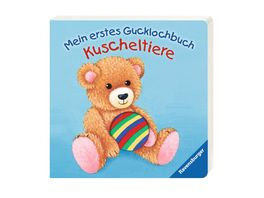 Ravensburger Mein erstes Gucklochbuch Kuscheltiere
