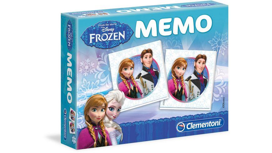 Clementoni Memo Kompakt Frozen Die Eiskoenigin