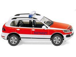 WIKING 007118 Notarzt VW Touareg