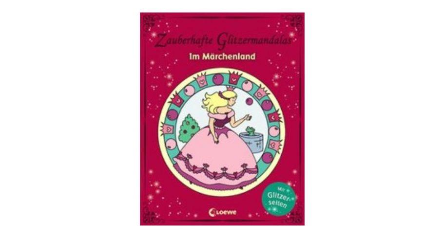 Buch Loewe Zauberhafte Glitzermandalas Im Maerchenland