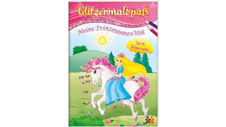 Buch Kids Concepts Glitzermalspass Meine Prinzessinnen Welt