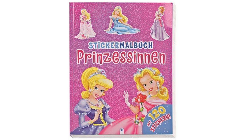 Buch Troetsch Verlag Stickermalbuch Prinzessinnen