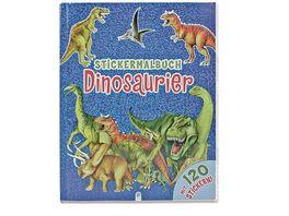 Buch Troetsch Verlag Stickermalbuch Dinosaurier