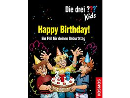 Buch KOSMOS Die drei Kids Happy Birthday