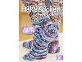 Buch Christophorus Verlag Haekelsocken einfach schnell