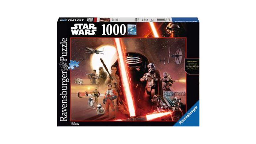 Ravensburger Puzzle Star Wars Episode VII 1000 Teile
