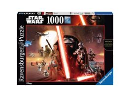 Ravensburger Puzzle Star Wars Episode VII 1000 Teile