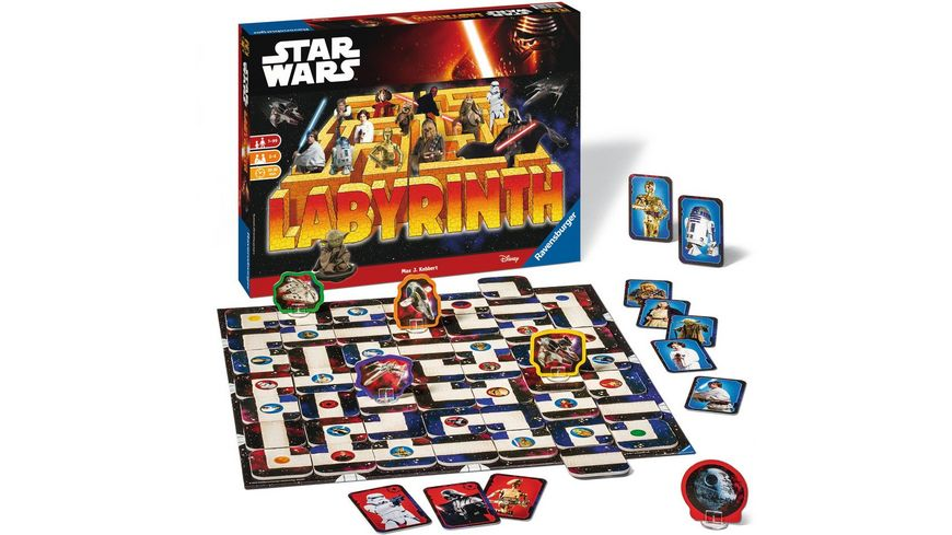Ravensburger Spiel Star Wars Labyrinth