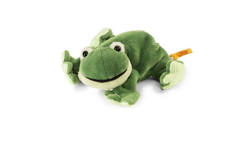 Steiff - Cappy Frosch 16 gruen liegend
